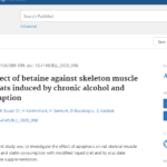 Protective effect of betaine against skeleton muscle apoptosis in rats induced by chronic alcohol and statin consumption