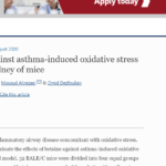 Betaine effects against asthma-induced oxidative stress in the liver and kidney of mice