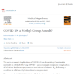 COVID-19: A Methyl-Group Assault?